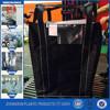 Carbon black super sacks , big bag jumbo bag size , fibc with open top bottom discharge with factory price