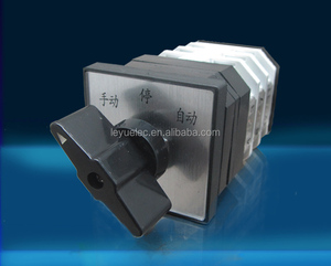 selector rotary switch lw12-16/3 16a 380v Universal Changeover combination switch three knots