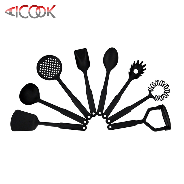 Cheap price plastic bonny cooking utensils