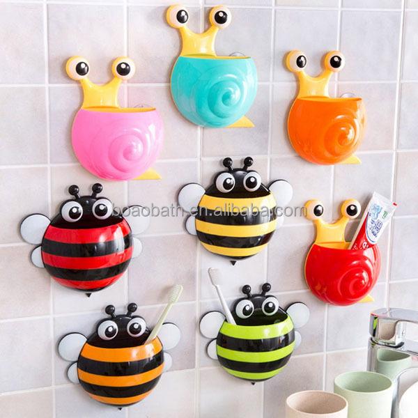 cartone animato di design ape spazzolino da denti bambini ... - Arredo Bagno Bambini