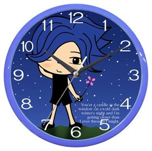 Cartoon Character Kid Wall Clock