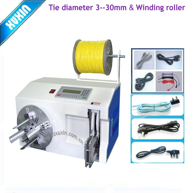 Draad coil winding machine/automatische cable tie twist machine