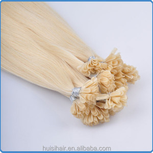 Top selling in alibaba with good feedback wholesale cambodian hair remy keratin tape u tip hair