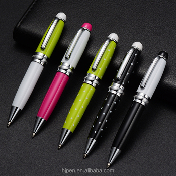 Personalized Type Ball Point Pen Short Fat Metal Ballpoint Cute Pen With  White Point - Buy Cute Pen,Short Ballpoint Pen,Personalized Pen Product on