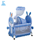Wholesale Portable Hanging Crib Bedding Cartoon Baby Swinging Crib 230