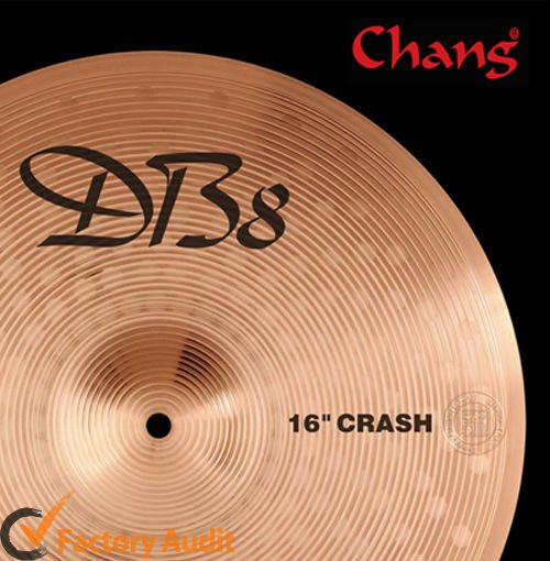 Percussion Instrument Devotee B8 Cymbal Set Wuhan Cymbal