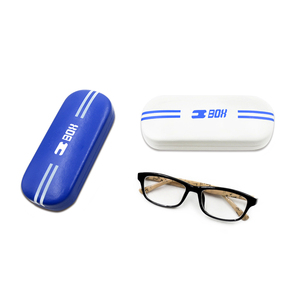 Wholesale Custom Logo Metal Eyeglass Case