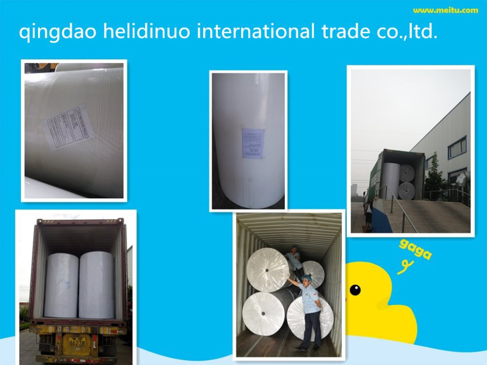 recycle raw material jumbo roll of napkin paper