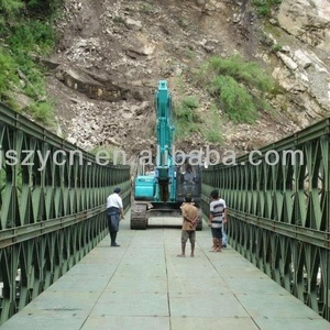 Alibaba famous export High-end product steel structure bailey bridge from China manufacturer