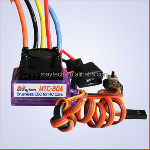 Maytech electronic dc motor esc 80A 4S for rc racing car