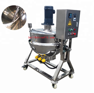100 liter oil jacketed cooking mixer,oil jacketed cooking pot