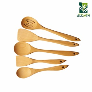 High Quality Maple Wooden Cutlery Set