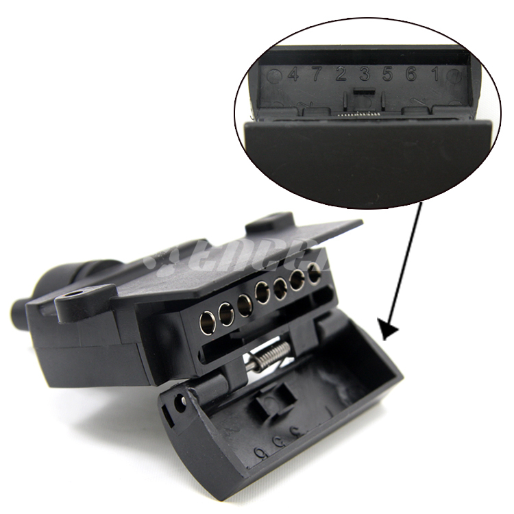 trailer wiring accessories wiring accessories australia 7 pin flat trailer socket adapter plug wiring ... #2