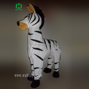 2 person zebra Mascot Costume For adults 2 person costumes animal horse carnival costumes excellent lyjenny