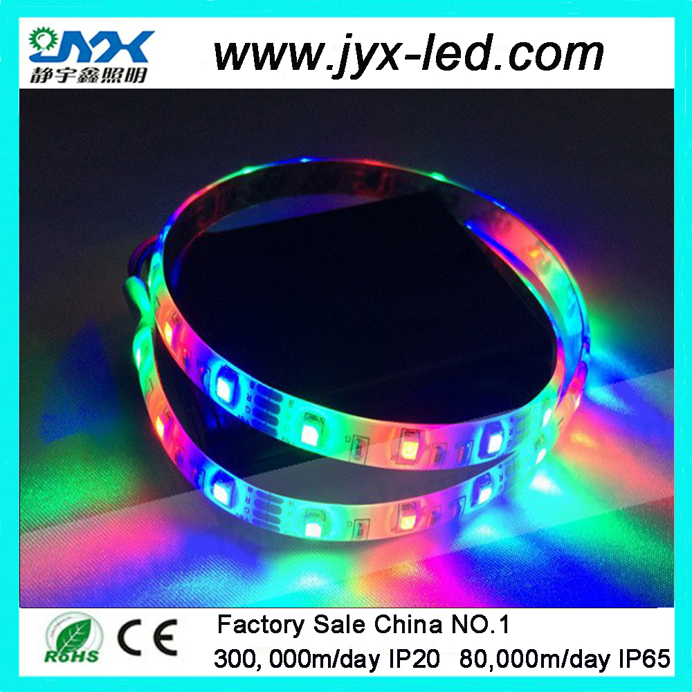 Single pcb 5050 Led Strip 30leds RGB light Waterproof for TV Background Computer home car kid room decor
