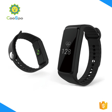 dual mode healthy calorie counter heart rate monitor wristband with backlight