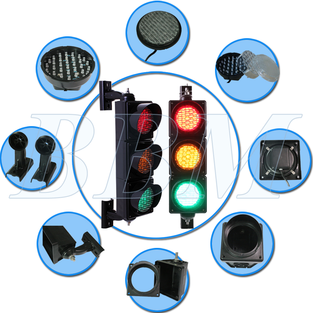 100mm mini led traffic lights