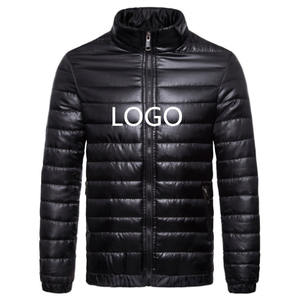 Men 90% Down 10% Feather Content Thin Ultra Light Down Jacket Winter Long Sleeve Solid Fashion Down Jacket For Winters