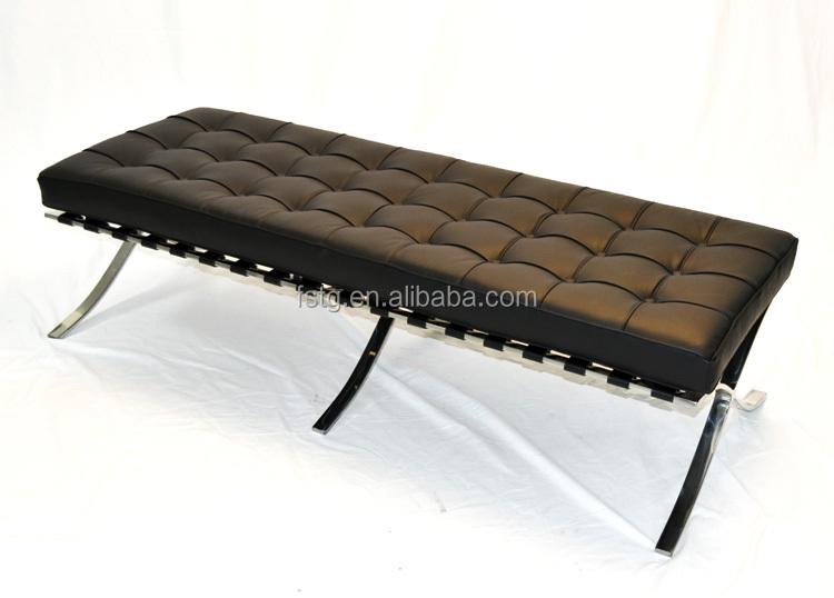 Réplica Diseñador Muebles Mies Van Der Rohe De Barcelona Banco En ...