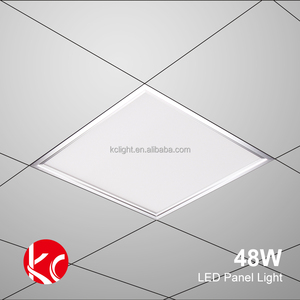 High Lumen Low Price 48W 600*600mm Precision Aluminum Recessed Led SMD Panel Light Certified Listed