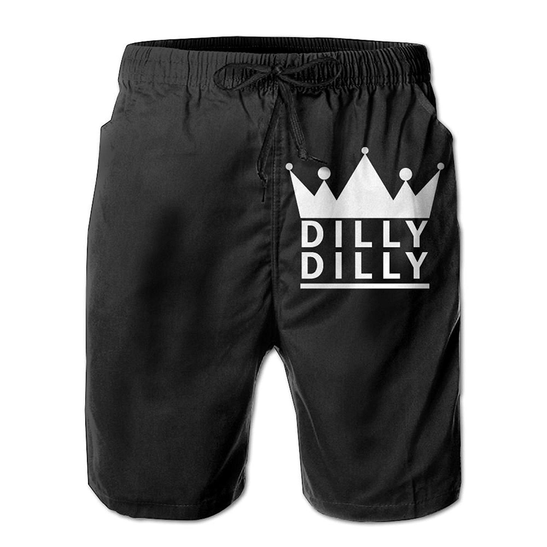 YEYUNSHORT Dilly Dilly Beer Medieval - Men's Boardshorts Casual Swim Short