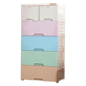 Marvelous Extra Large Size Rainbow Panel Baby Plastic Drawer Cabinet
