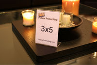 acrylic picture frames 3x5