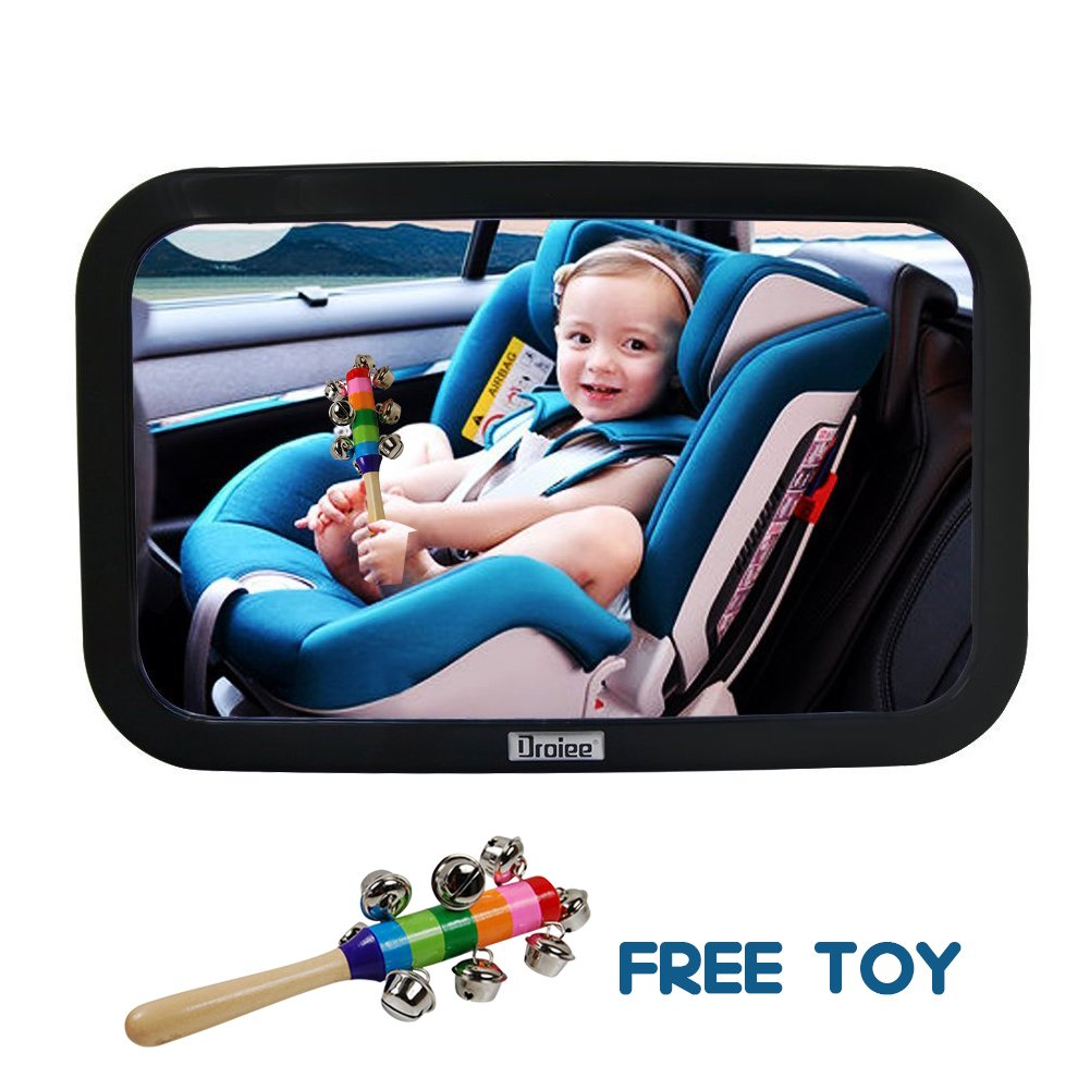 Droiee Baby Back Seat Mirror Shatterproof Glass The Best Car Rear Facing