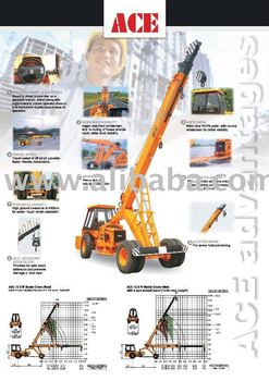 hydraulic mobile crane buy ace hydra product on. Black Bedroom Furniture Sets. Home Design Ideas