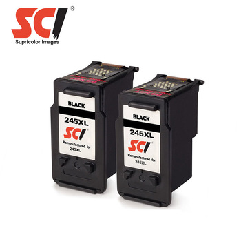 pg 245 pg245 pg245xl for MG2400 MG2500 MG2880 MG2820 MG2920 compatible for canon pg-245xl black cartridge