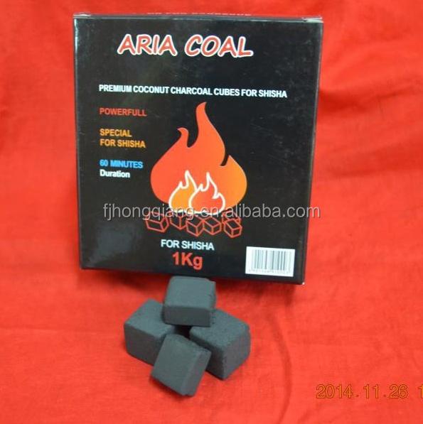 HongQiang good quality cubes coconut coal