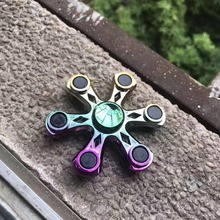 EDC Fidget Spinner High Speed Stainless Steel Bearing ADHD Focus Anxiety Relief Toys