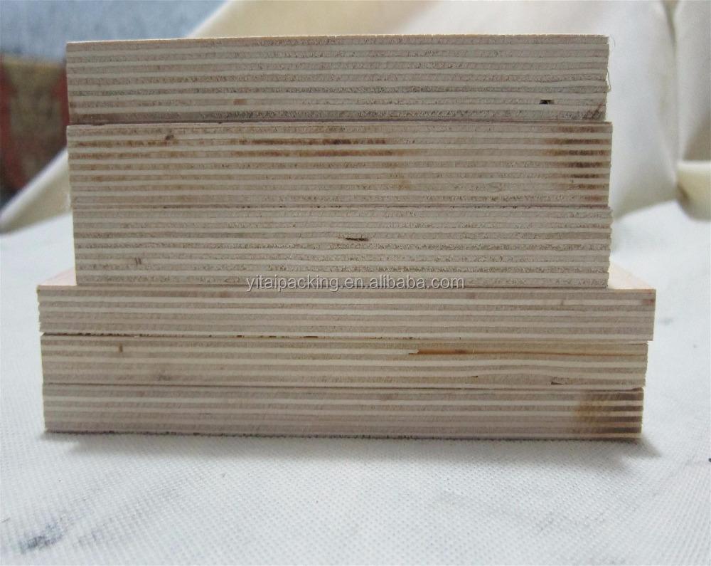 Madera de abedul de corte por láser de madera contrachapada para de hacer morir