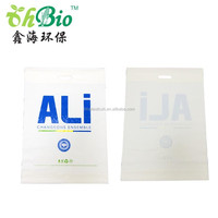 wholesale printed large plastic carrier bag with die cut handle