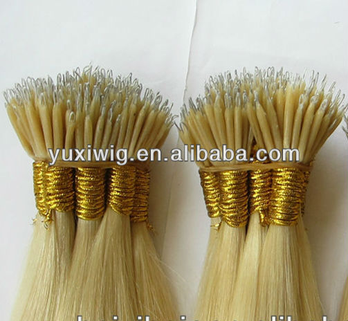 Top quality russian nano ring wholesale hair extension
