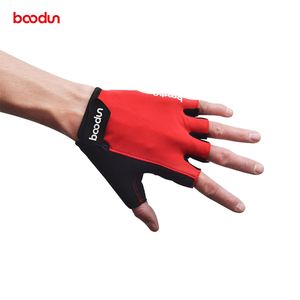Red Comfortable Sport Training Fitness Gloves For Men's