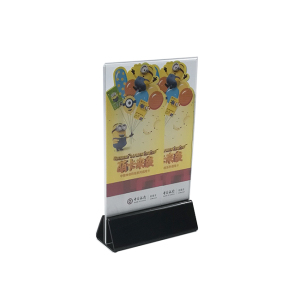 A4 A5 paper Inserted plastic brochure clear acrylic sign holder