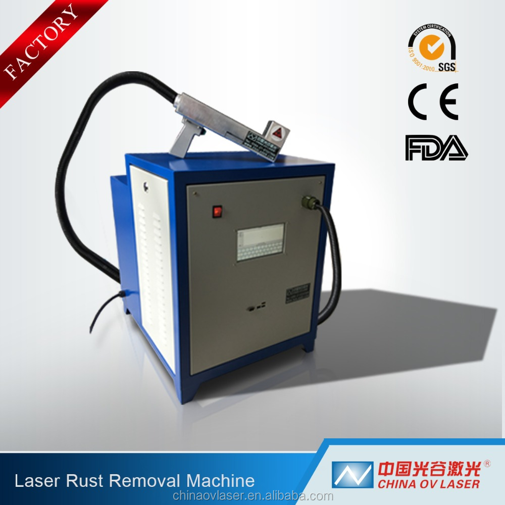 Metal Surface Cleaning Laser Machine 200W 500W Rust Removal Machinery