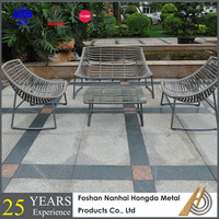 PE Wicker Outdoor garden furniture suppliers