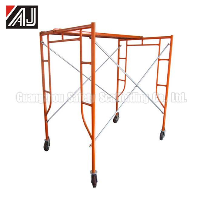 Factory Price Durable Painted Frame Scaffolding In Iraq
