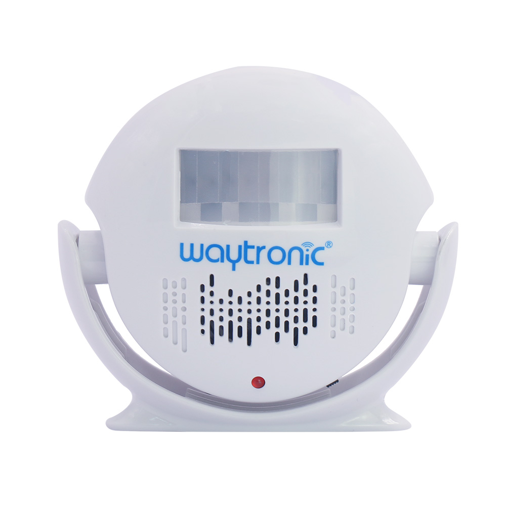 Wireless Remote Control PIR Motion Sensor Detection Automatic Ding Dong Welcome Door Bell with Color Light