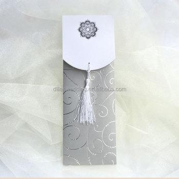 Silver Color Big Size Kerala Wedding CardsWedding Cards In Lahore