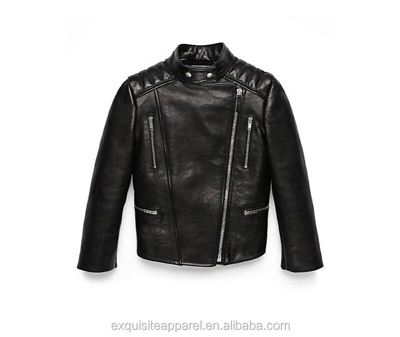 Custom bambini giacca di pelle per ragazze abbigliamento per bambini bambini  giacca di pelle 141035c3c31