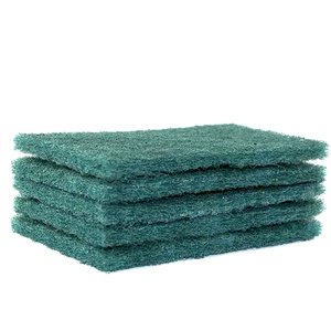 8698 green scouring pad Non-woven Abrasives Industrial Scouring Pad for Metal