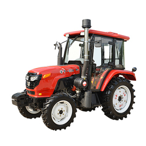 professional tractor supplier 4wheel drive type red garden tractor use LAIDONG engine