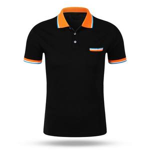 Hot Selling Latest Design Polo Tops for Men's Polo Collar Shirt