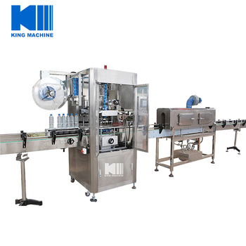Pure Water Bottle Sleeve Shrink Labeling Machine