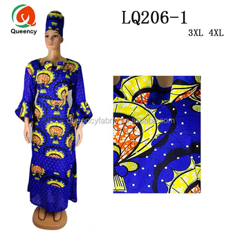 Lq206 Queency 2017 Plus Size Dashiki Wax Clothing African Print Party Dress  With Stones For Women - Buy African Print Party Dress,African Print ...