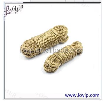 bdsm jute rope