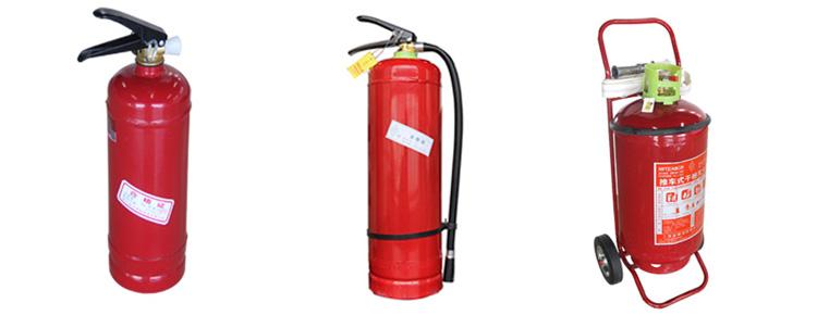 Buona qualità portatile DCP fuoco estintore a polvere secca per ABC di classe